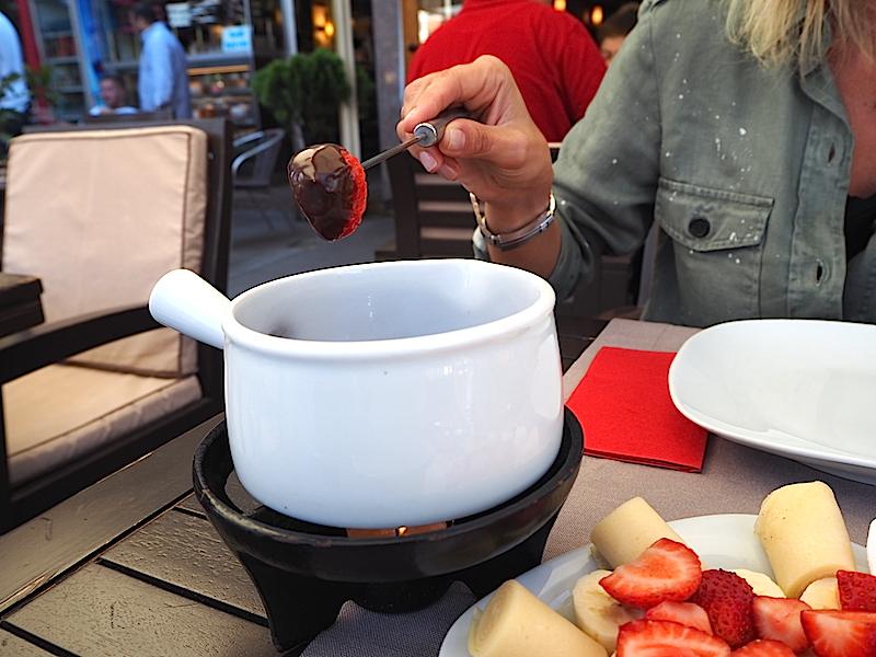 Crepe and Fondue Çikolata Fondü