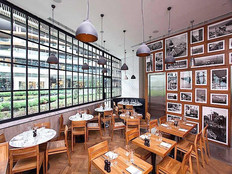 Tom's Kitchen İstanbul İç Mekan