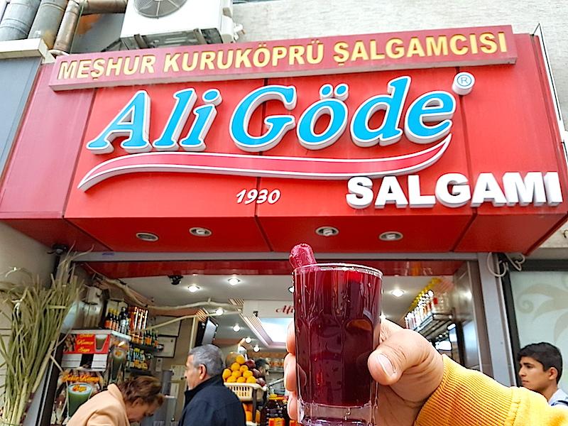 Adana Yeme İçme Rehberi - MEŞHUR KURU KÖPRÜ ŞALGAMCISI ALİ GÖDE