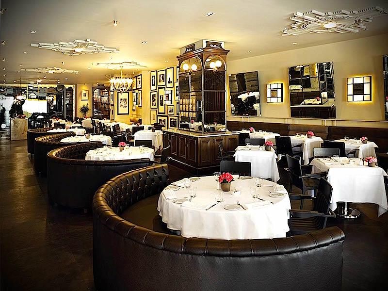 Gina Restaurant İç Mekan