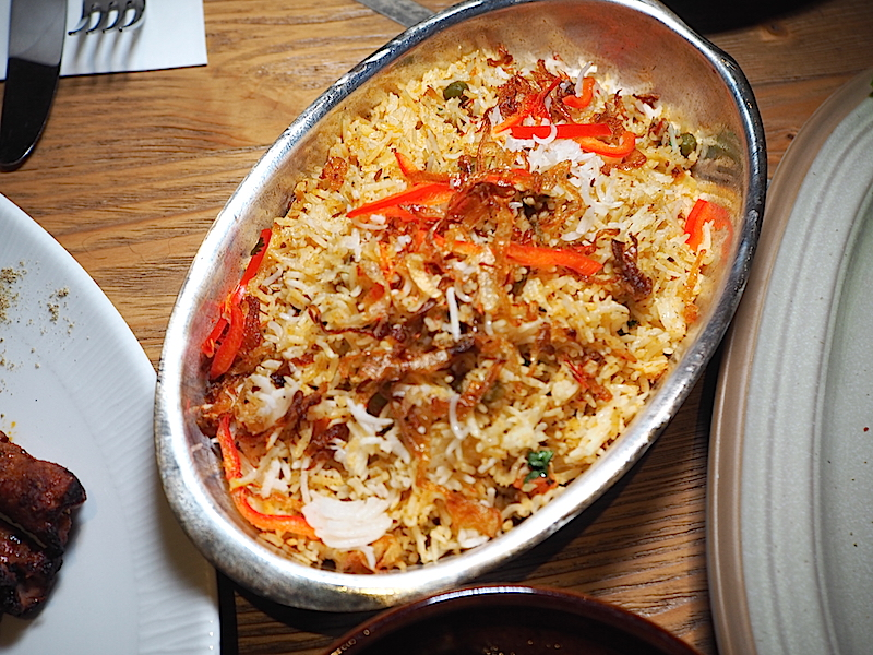 Dubb Indian Bosphorus Restaurant Shahi Subj Biryani