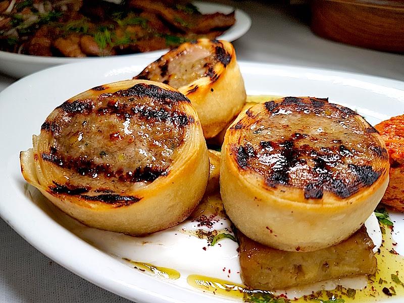 Leb-i Derya Restaurant Yufkaya Sarılı Antep Fıstıklı Köfte