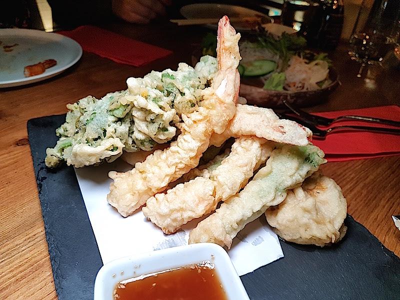 Naomi Sushi Bar - Ebi Tempura