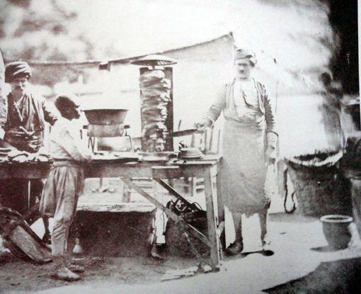 Dönerin Tarihçesi - Bilinen İlk Döner Fotoğrafı