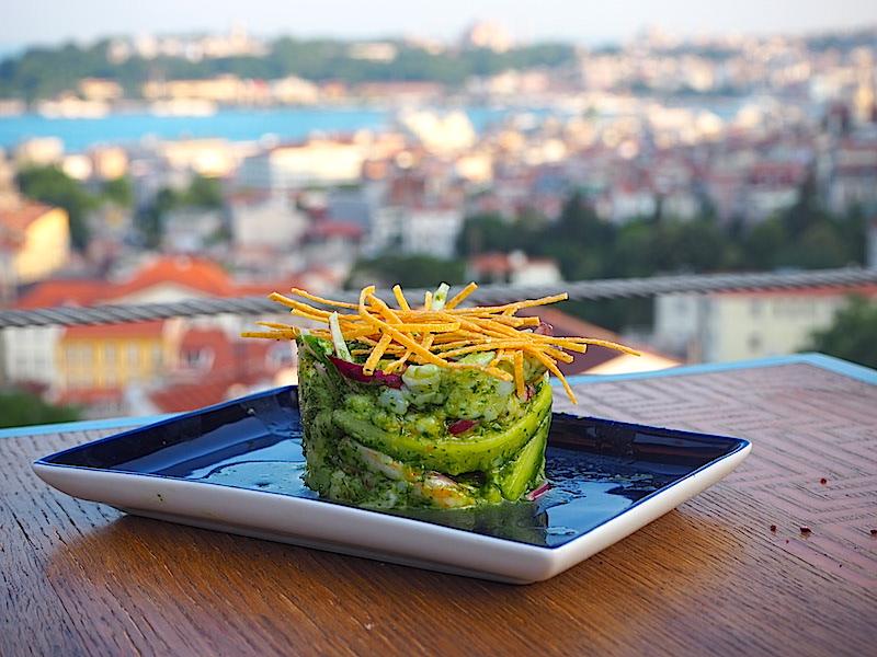Los Altos Istanbul Ceviche Verde de Camaron