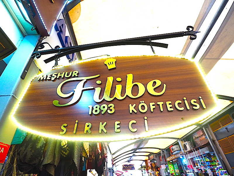 İstanbul'un En İyi Köftecileri - Meşhur Filibe Köftecisi